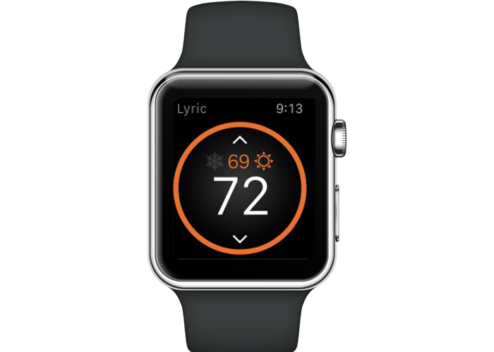Apple Watch used for smart thermostat control Homestead, FL