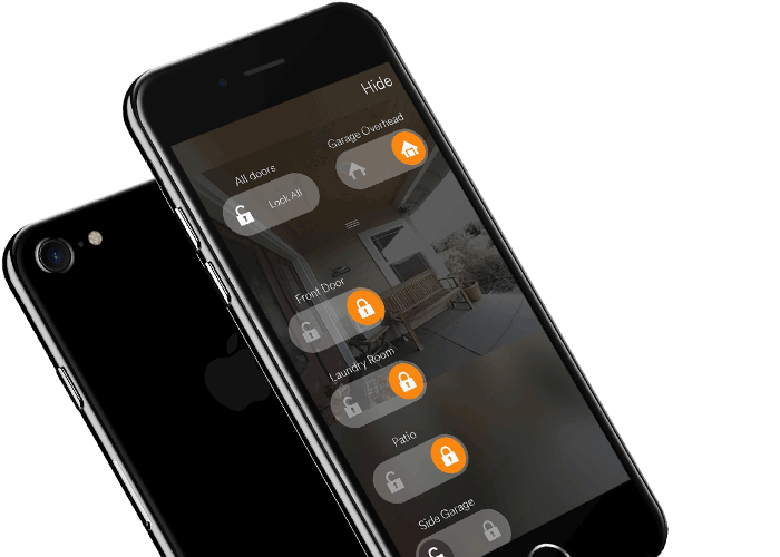 Door control app for home security systems South Florida