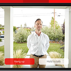 Doorbell viewing app for home security system Miami, FL