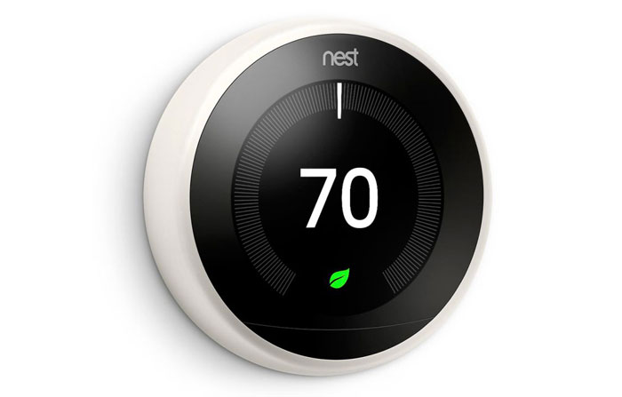 Nest thermostat for smart thermostat control Homestead, FL
