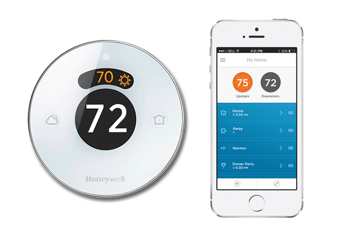 Mobile app for smart home thermostat control Miami, FL