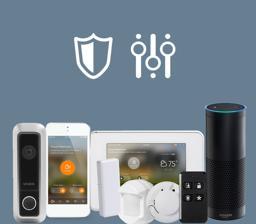 Smart Control Package – wireless home security systems Coral Gables, FL